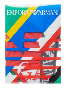 Emporio Armani Italy Colour Block Briefs