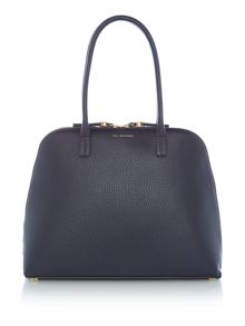 Lulu Guinness Bobbie Large Grainy Leather Bag