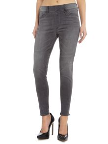 True Religion Runway Leggings Jeans in grey stage