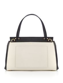 Lulu Guinness Gertie Large Grainy Leather Bag
