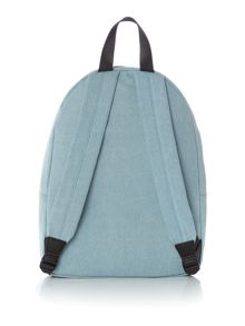 Lulu Guinness Heart Hands Denim Backpack