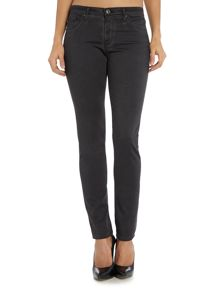 AG Jeans Stilt cigarette jean in sea soalid deep slate