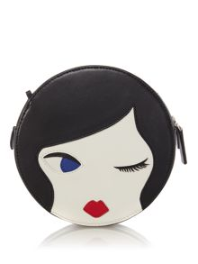 Lulu Guinness Lulu doll Leather Bag with Chain