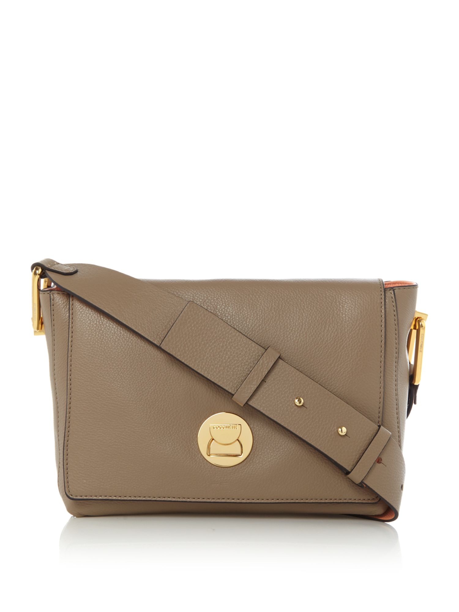 Coccinelle Coccinelle Liya small cross body bag, Taupe