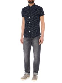 Criminal Pedro Short Sleeve Printed Shirt