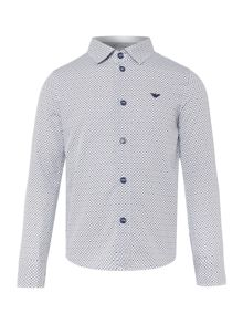 Armani Junior Boys Long Sleeve Shirt