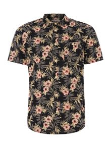 Criminal Sundridge Short Sleeve Floral Shirt