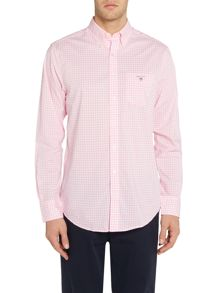 Gant Small Gingham Check Poplin Shirt