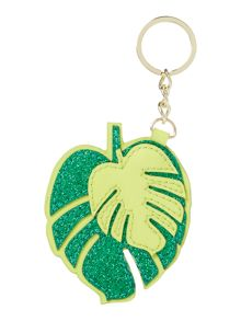 Therapy Leaf keyring