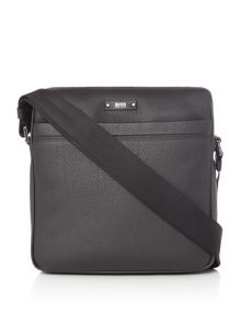 Hugo Boss Traveller Leather Small Cross Body Bag
