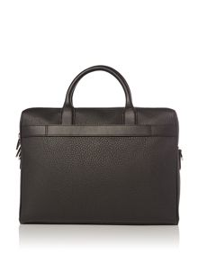 Hugo Boss Traveller Leather Document Bag