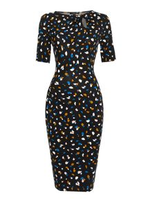 Therapy Memphis Print Bodycon Dress