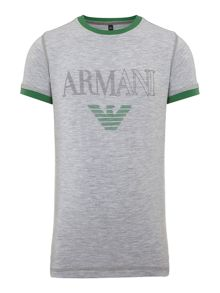 Armani Junior Boys Short Sleeve Tshirt