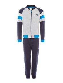 Armani Junior Boys Contrast Arm Tracksuit