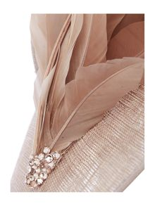 Biba Verity feather hat fascinator