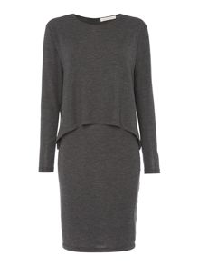 Maison De Nimes Layered Jersey Dress