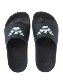 Armani Junior Boys Slider With Front Logo