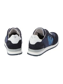 Armani Junior Boys Lace Up Trainer