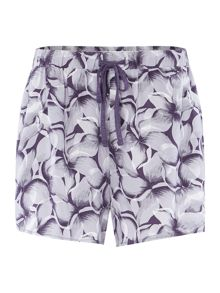 Linea Brushed petal print short