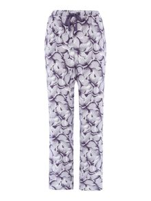 Linea Brushed petal print trouser