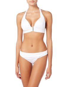 Biba White icon venetian brief
