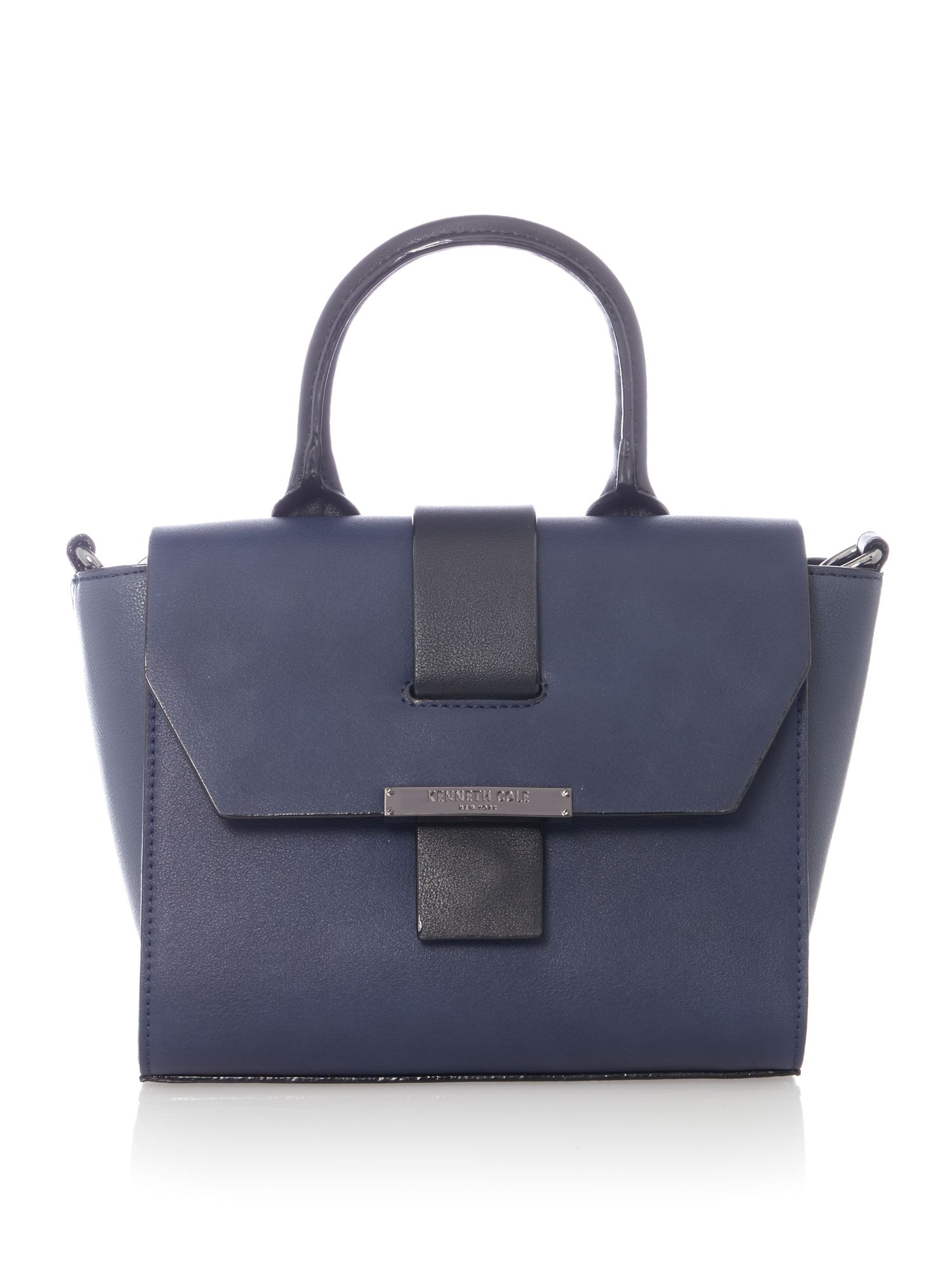 Kenneth Cole Mini liberty winged bag Navy