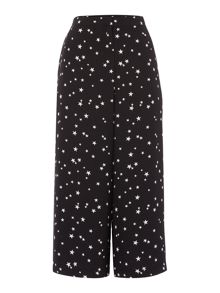 Therapy Star print culotte trousers