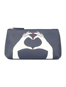 Lulu Guinness Heart Hands Tseam Cos Bag