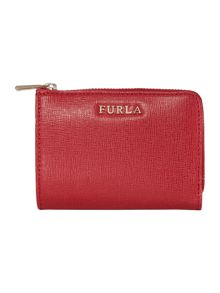 Furla Babylon small zip around purse