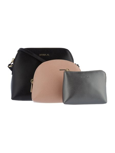 Furla Boheme Cross Body Pouch Set
