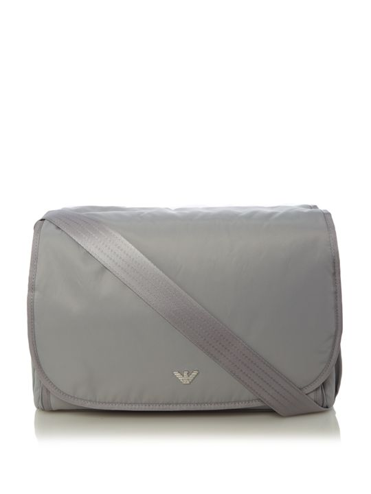 Armani Junior Baby Solid Changing Bag