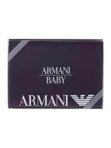 Armani Junior Baby Reversible Blanket