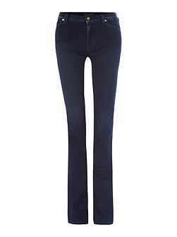 Skinny illusion bootcut jean in luxe rich indigo