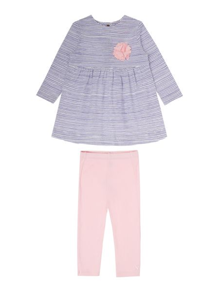 Joules Baby Girl Corsage Dress With Leggings