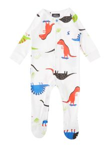 Joules Baby Boy Dinosaur All In One