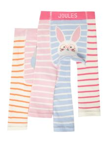 Joules Baby Girl 2 Pack Leggings