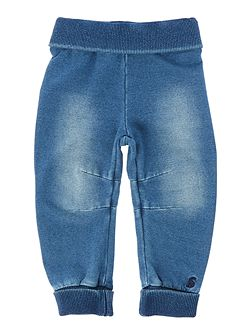 Toddler Boy Jersey Denim Jeans