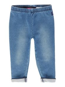 Joules Toddler Girl Jersey Denim Leggings