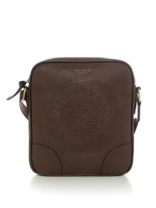 Ted Baker Newboss Embossed Flight Bag