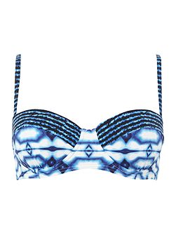 Summer breeze underwired bikini top