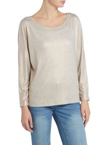 Repeat Cashmere Shimmer long sleeve t-shirt