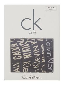 Calvin Klein CK One Cotton Multi Logo Trunk
