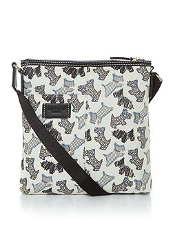 Fleet street small ziptop crossbody bag