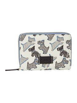 Fleet street medium zip purse