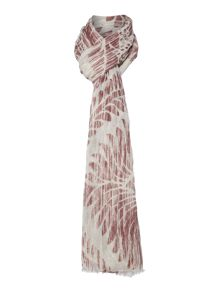 Repeat Cashmere Ombre printed scarf