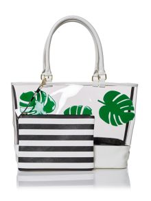 Therapy palm beach bag