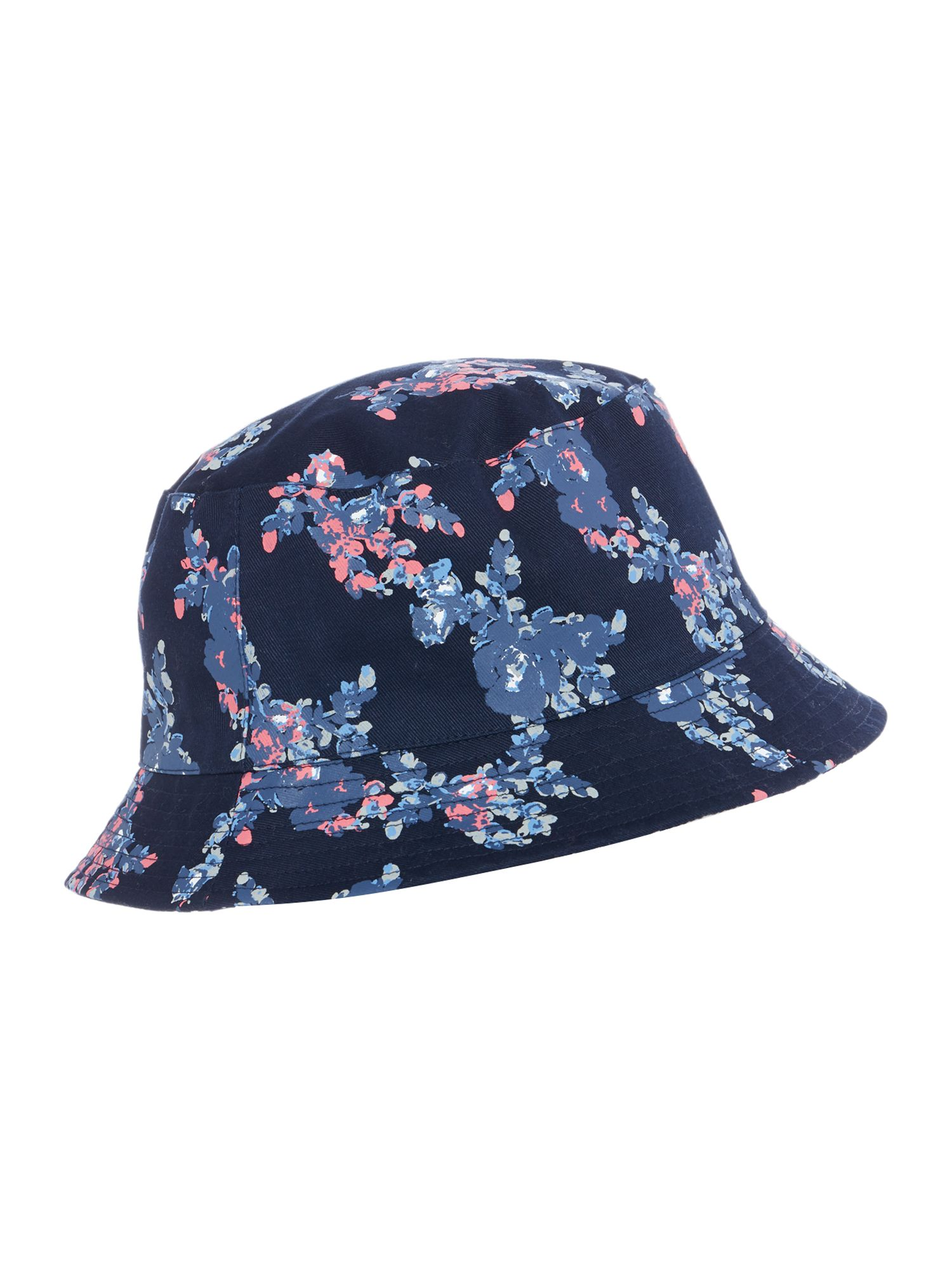Dickins & Jones Danity Reversible Bucket Hat, Blue