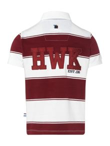 Howick Junior Boys Block Striped Rugby Shirt