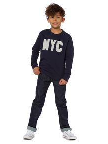 Howick Junior Boys NYC Crew Neck Sweatshirt