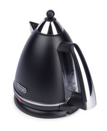 Delonghi Argento Black Kettle